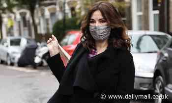 Nigella Lawson, 60, keeps it chic while heading to filming in London