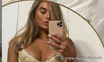 Love Island's Arabella Chi shows off her incredible curves in yellow lingerie