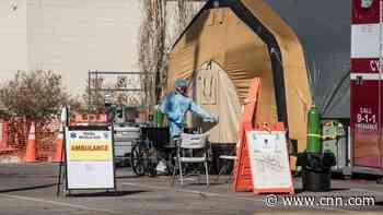 US coronavirus cases break global daily record