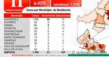 Al alza, casos de covid en Matehuala; Gobierno pide al Cabildo cerrar el panteón - Pulso Diario de San Luis
