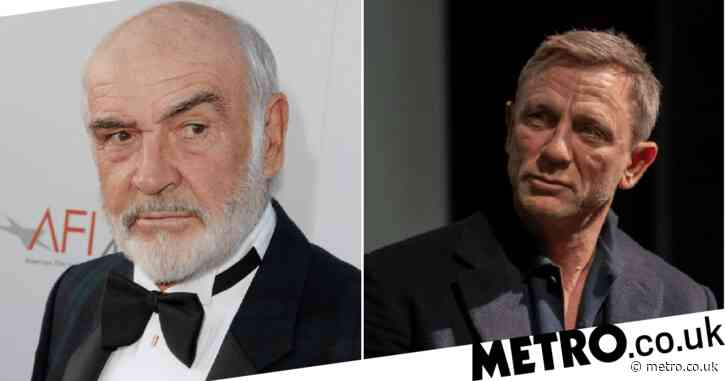 Daniel Craig pays tribute to original James Bond star Sir Sean Connery: 'Wherever he is, I hope there is a golf course'
