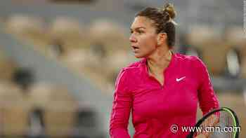 World No. 2 Simona Halep is recovering after testing positive for Covid-19