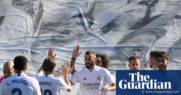 Real Madrid go top as Benzema and Hazard make light work of Huesca