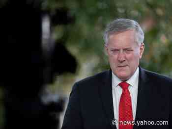 A government watchdog says White House Chief of Staff Mark Meadows spent campaign funds on personal expenditures
