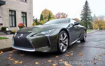 Lexus LC500 2021: polarisante, mais invisible