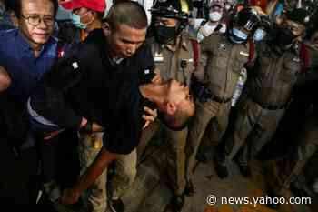 Thai protest leaders, in hospital, face possible new charges