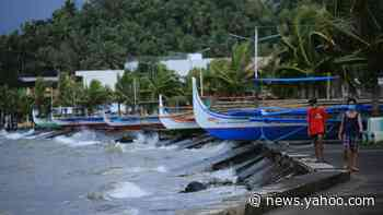 Typhoon Goni: Philippines braced for year's most powerful storm