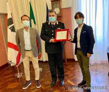 Sorso il saluto dopo 11 anni al comandate dei carabinieri Masala - Sassari Oggi