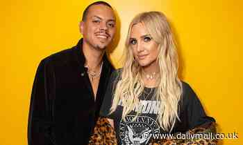 Ashlee Simpson and husband Evan Ross announce the arrival of son Ziggy with heart-melting photo