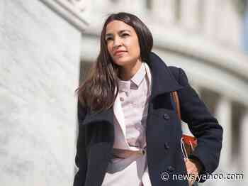 Alexandria Ocasio-Cortez says critics of her Vanity Fair cover outfits are mad she 'looks good in borrowed clothes'