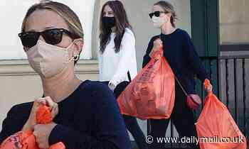 Jennifer Meyer stocks up on Halloween supplies after filing for divorce from husband Tobey Maguire