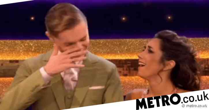 Strictly 2020: HRVY gets tearful after emotional video message from his nan