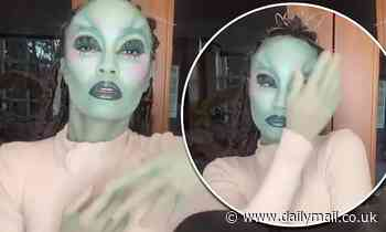 Leigh-Anne Pinnock looks incredible as she shows off alien Halloween outfit in a spooky video