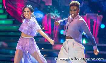 Nicola Adams moves Strictly fans with her meaningful performance with Katya Jones