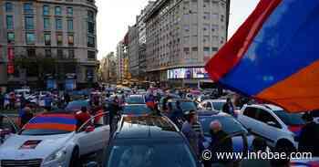 """""""No a otro genocidio"""": la comunidad armenia de Buenos Aires realiza una nueva caravana para pedir el cese el fuego en Artsaj - infobae"""