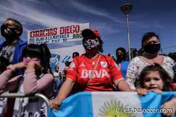 Maradona se perdió su homenaje en Buenos Aires - BeSoccer
