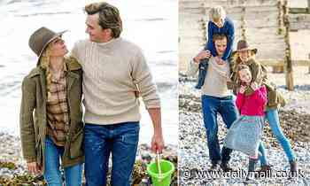 Sienna Miller and Rupert Friend film Netflix series Anatomy Of A Scandal on the Sussex coast
