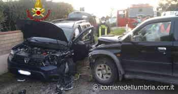 A San Giustino scontro frontale tra due auto, ferite mamma e figlia - Corriere dell'Umbria