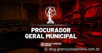 Concurso PGM Monte Santo de Minas MG: inscrições abertas. VEJA! - Gran Cursos Online