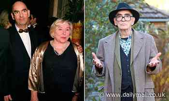 Fay Weldon's husband Nick insists he's 'not a villain' after novelist accused him of being tyrant