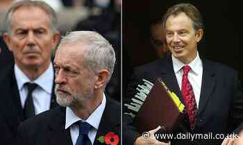 Tony Blair 'tried to get Jeremy Corbyn out of Labour party in 2004'