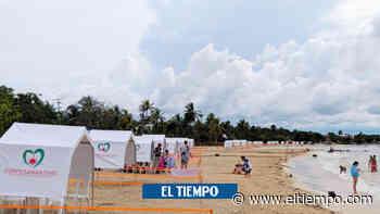 Playas de San Antero, con aforo para 850 bañistas - El Tiempo