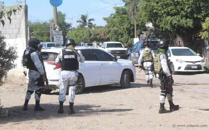 Enfrentamiento entre grupo armado y policías de Navolato deja varios heridos - Milenio