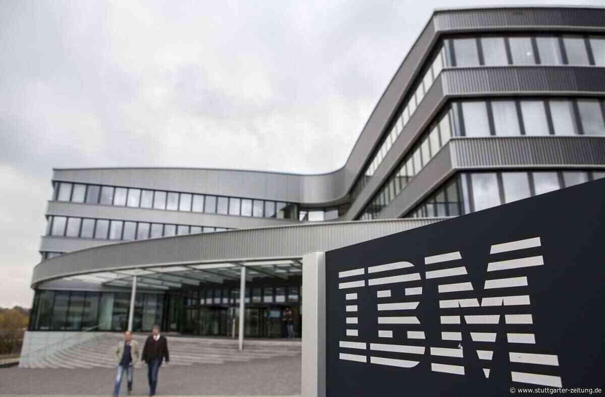 IT-Urgestein aus Ehningen - IBM will weitere Stellen in Deutschland streichen - Stuttgarter Zeitung