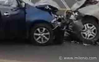 Choque en carretera Valle de Santiago a Salamanca deja 2 lesionados - Milenio