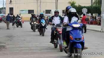 Motociclistas ayudan a alumnos a seguir con sus estudios en Peto - PorEsto