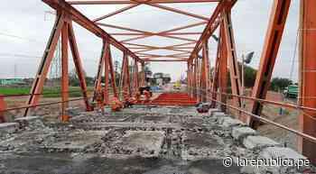 Lambayeque: transfieren S/ 24 millones para reconstruir puente Reque y reforzar defensas ribereñas - LaRepública.pe