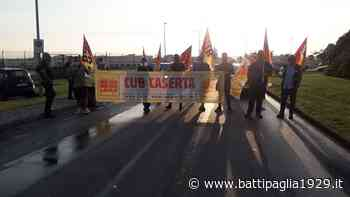 Base Nato di Gricignano di Aversa. Sciopero dei lavoratori FLAICA UNiti CUB | Battipaglia 1929 | Notizie dalla città di Battipaglia - Battipaglia 1929