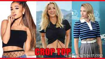 Ariana Grande, Kaley Cuoco, Scarlett Johansson Raise Hotness Quotient In Crop Tops: Check Now - IWMBuzz