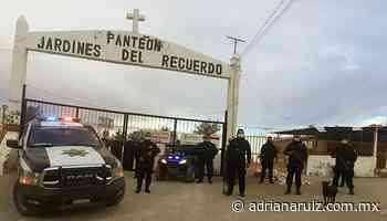 #Juarez   Continúa operativo sanitario en panteones de la ciudad - Adriana Ruiz