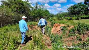 Productores exigen reparación de un camino vecinal en Yataity del Norte - Nacionales - ABC Color