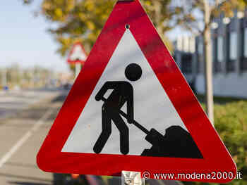 "Calderara di Reno, chiusura al traffico della SP 18 ""Padullese"" - Modena 2000"