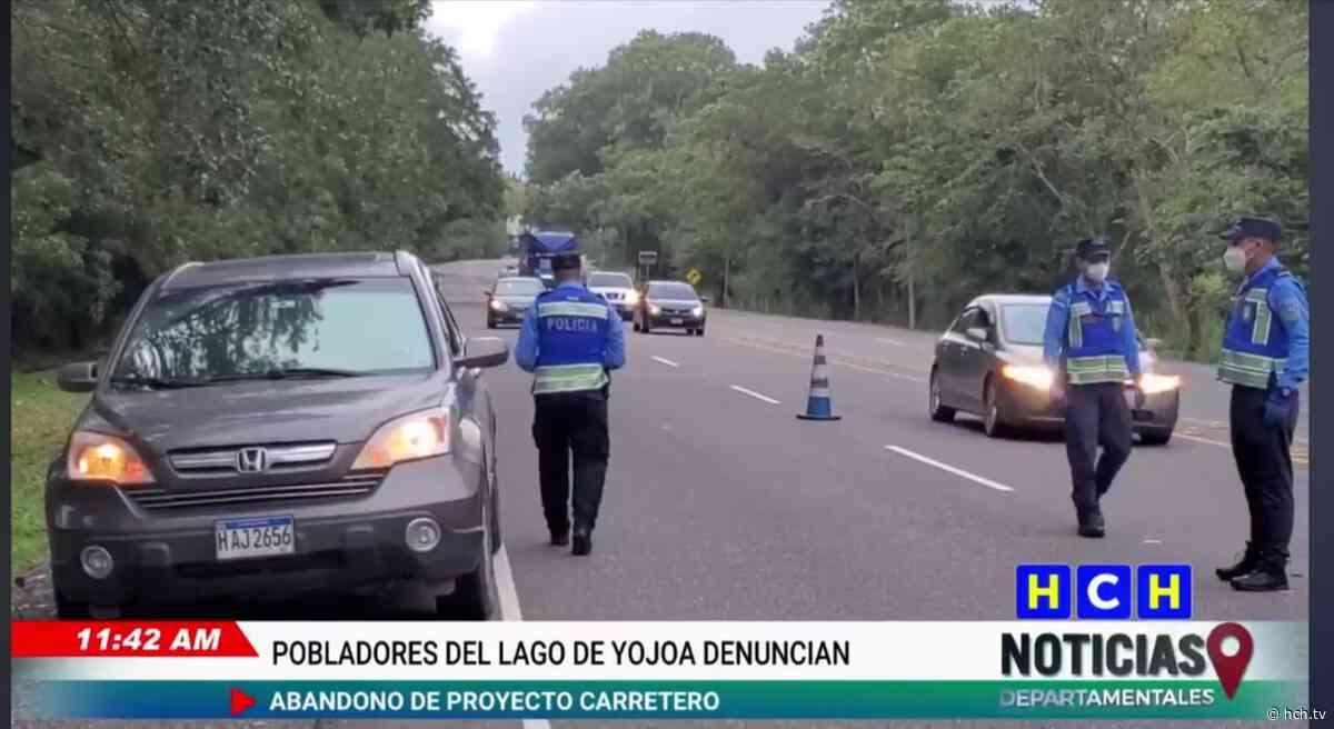 ¿Porqué se registran tantos accidentes viales en el sector de la Guama en Santa Cruz de Yojoa? - hch.tv