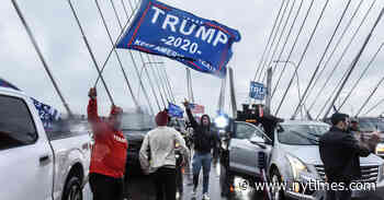 Trump Backers Block Highways as Nation's Divisions Play Out in the Street