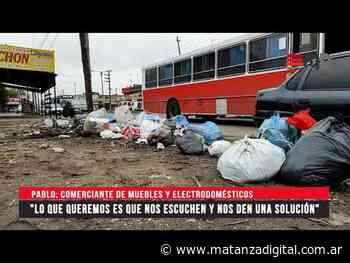 """Comerciantes de Isidro Casanova denuncian """"abandono total por parte del municipio"""" - Matanza Digital"""