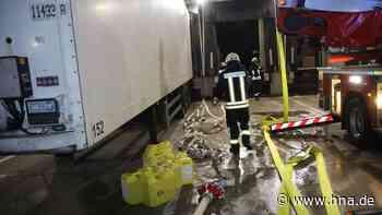 Verheerender Brand bei DHL - Ursache noch unklar - hna.de