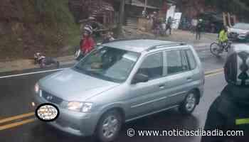 Dos muertos en accidente en la vía Mosquera y Anapoima, Cundinamarca - Noticias Día a Día
