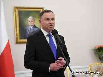 Andrzej Duda: Polens Präsident positiv auf Corona getestet - idowa