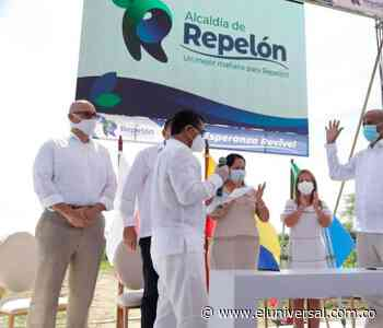 Gobernadora del Atlántico posesionó al nuevo alcalde de Repelón - El Universal - Colombia