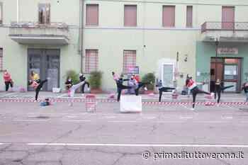 La danza a Bovolone non si ferma: il parcheggio si trasforma in palestra - GALLERY - Prima Verona