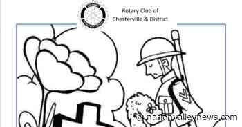 Chesterville Remembrance Day colouring contest - Nation Valley News