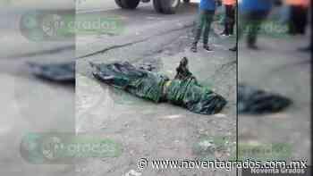 Dejan cuerpo embolsado y despedazado en Tlapa de Comonfort, Guerrero - Noventa Grados - Noventa Grados