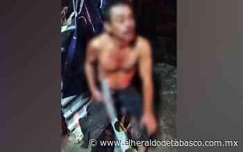 Impactados por una moto en Huimanguillo - El Heraldo de Tabasco
