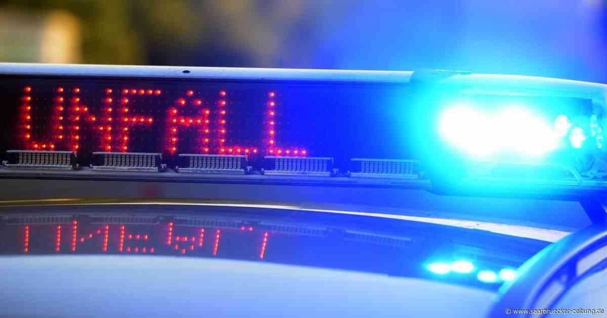 Unfall mit einem Verletzten auf der L 133 zwischen Marpingen und Alsweiler - Saarbrücker Zeitung