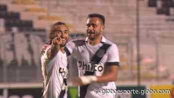 VÍDEO: Apodi aproveita falha de Sidão, garante vitória da Ponte e comemora à la Cristiano Ronaldo - globoesporte.com