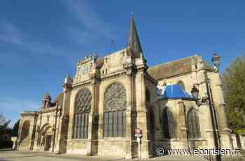 Magny-en-Vexin : une série de tags tracée en ville - Le Parisien